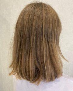 Сложное окрашивание волос до