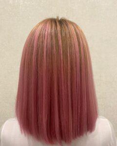 Сложное окрашивание волос после