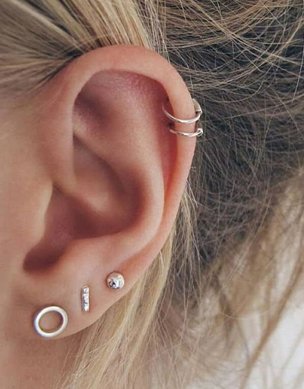 услуга по проколу хряща уха