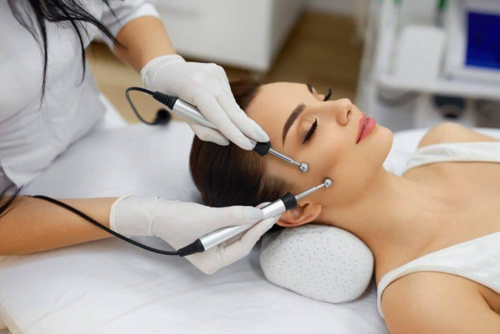 микротоковая терапия кожи